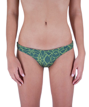 Load image into Gallery viewer, Leilani Cheeky Bikini Bottom in Jungle Print