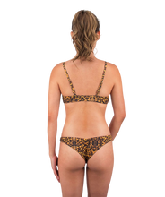 Load image into Gallery viewer, Classic Leilani Scrunch Butt Low Waist Bikini Bottom in Leopard Print