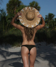 Load image into Gallery viewer, Rebel Woven Straw Hat in Lily White