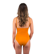 Load image into Gallery viewer, Savannah One Piece Swimsuit in Sunset Yellow