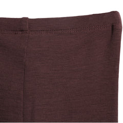 Wool Leggings Soft Eggplant