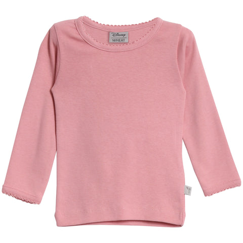 Basic Girl T-Shirt LS Blush