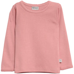 Basic Baby Girl T-Shirt LS Soft Rouge