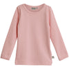 Baby Girl Basic T-Shirt LS Soft Rose