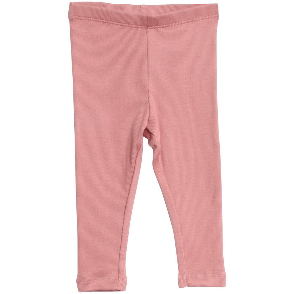 Rib Leggings Soft Rouge