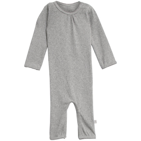 Jumpsuit Gatherings Picoting Melange Grey