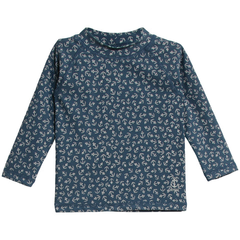 Swim T-Shirt Dilan Indigo Anchors