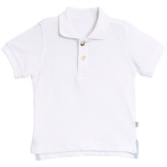 Polo Anchor SS White
