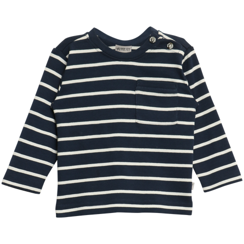 T-Shirt Striped Navy