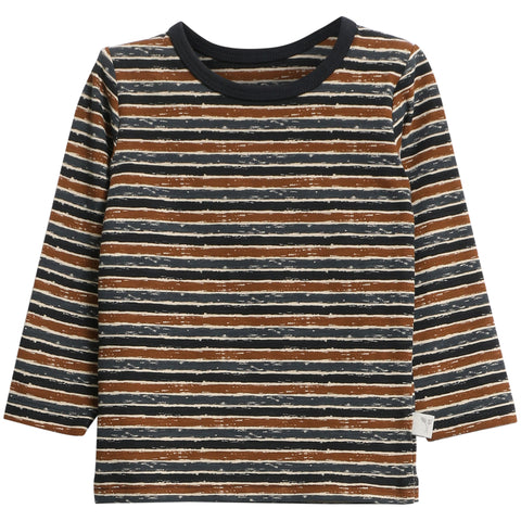 T-Shirt Striped Midnight Blue Stripes