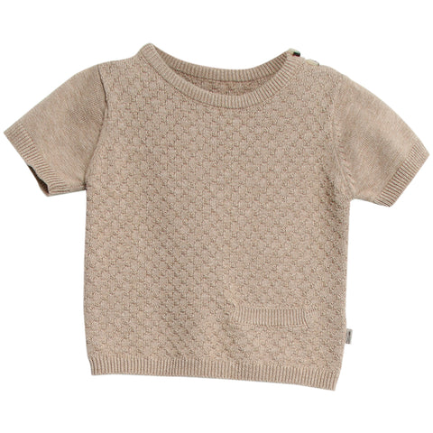 Knit Top Benni Melange Sand