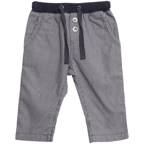 Trousers Artur Greyblue Stripe