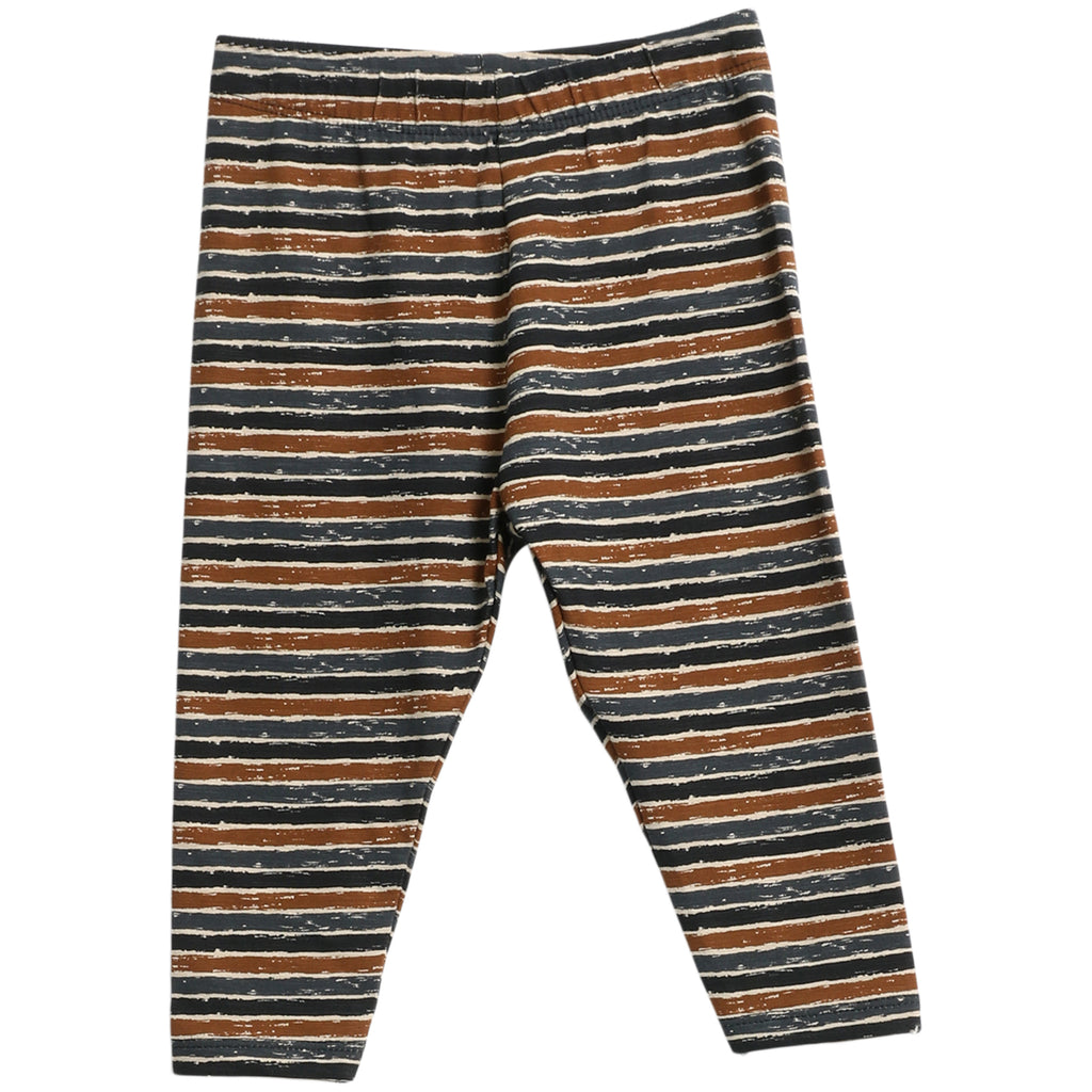 Jersey Pants Silas Midnight Blue Stripes