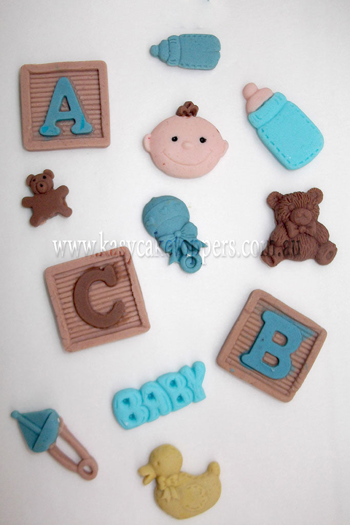 Baby Shower Cakes Perth Wa ~ Baby shower cupcake toppers boys kasy cake