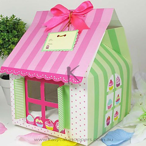 House Shaped Cupcake Box 100pcs