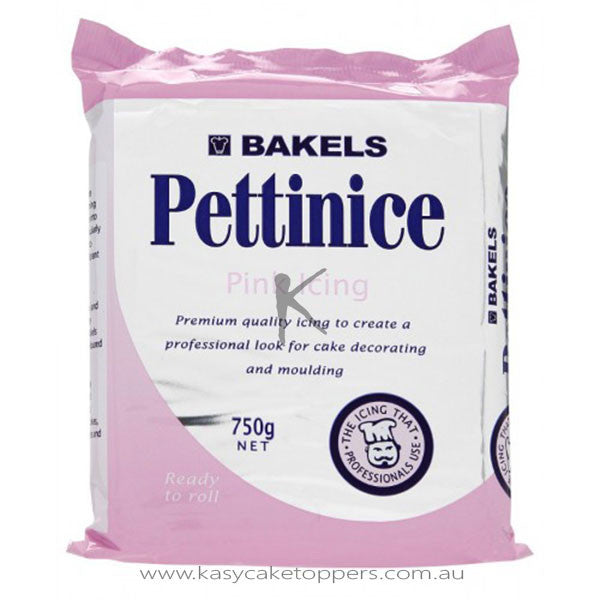Bakels Pettinice RTR Fondant Icing - Pink 750g