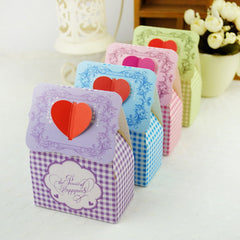 Free shipping new style wedding favors candy boxes
