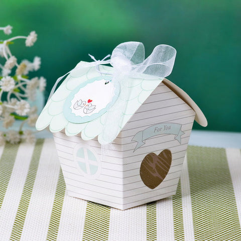 Bird House Favor box 100pcs