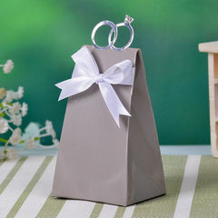 Wedding Ring Favor Boxes 50pcs