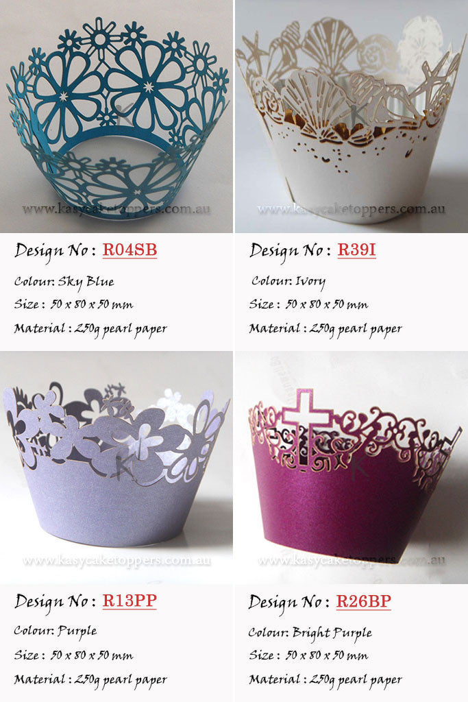 Cupcake Wrappers Mix 144pcs