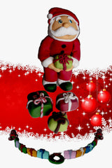 Santa Claus Edible Cake Topper