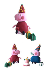 George & Peppa Pig Cake Toppers