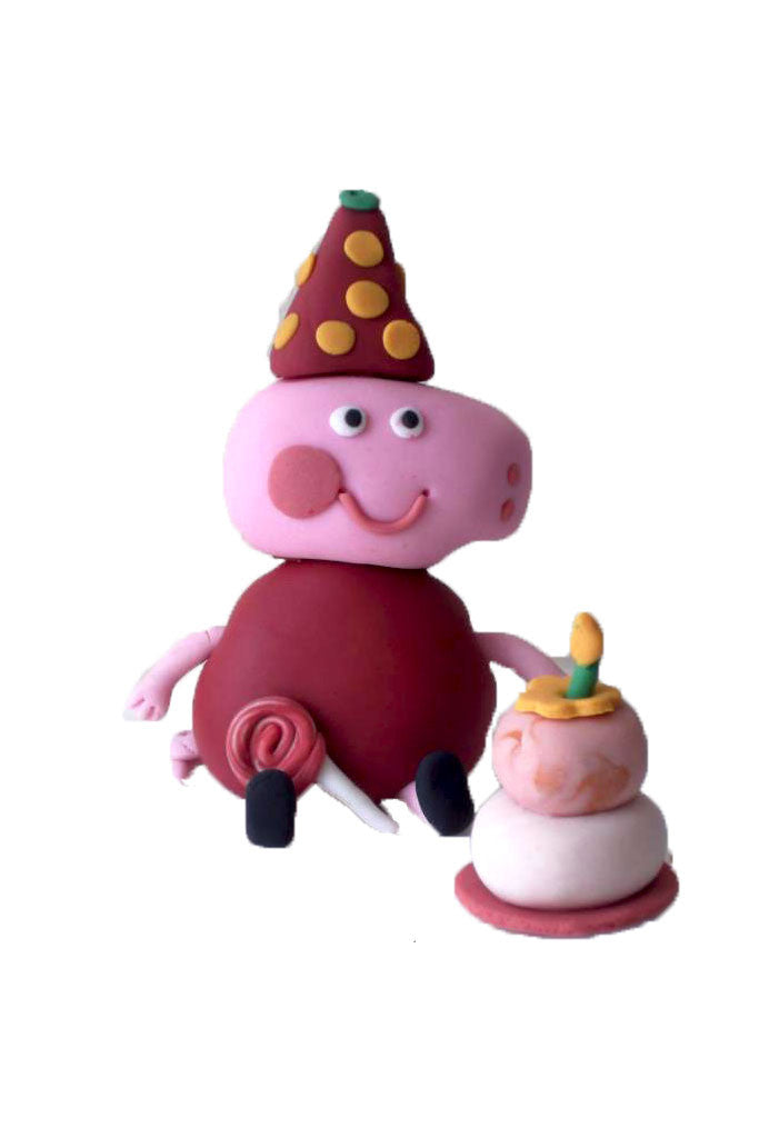 Peppa Pig Cake Topper Kasy Cake Toppers