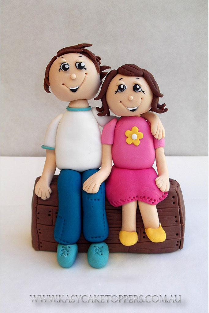 Brother Sister Birthday Cake Topper Kasy Cake Toppers