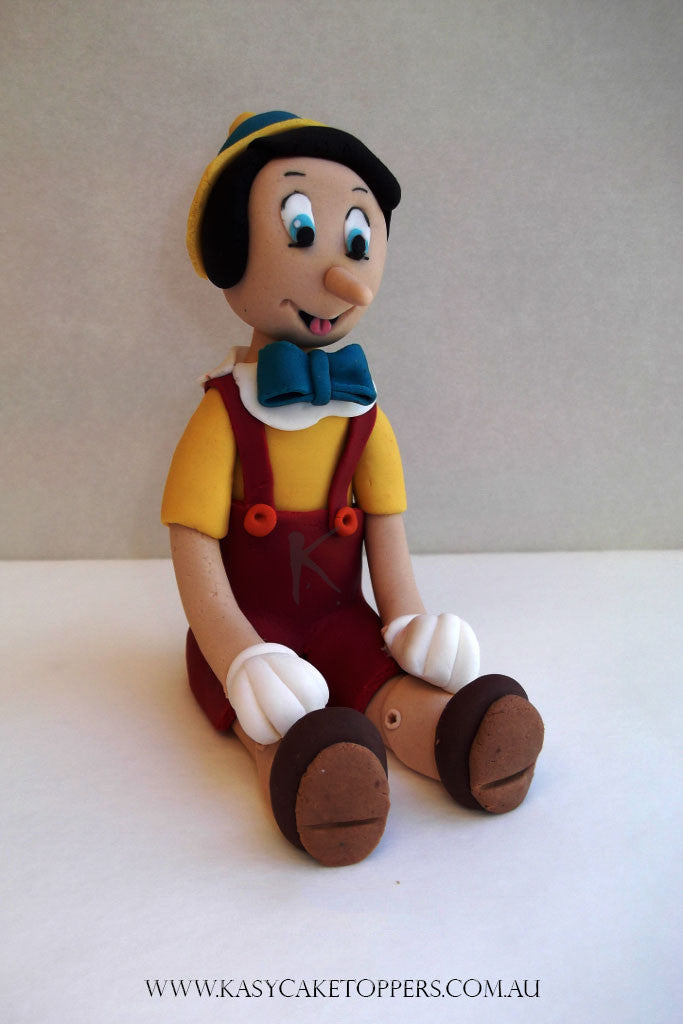 Pinocchio Cake Topper Kasy Cake Toppers