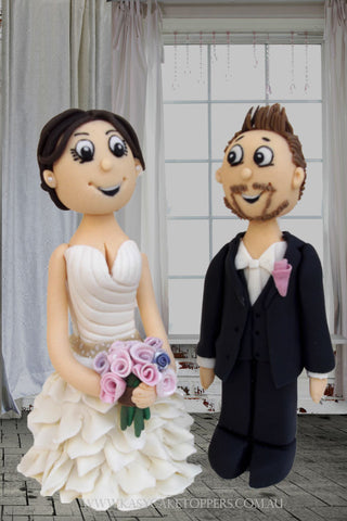 Sweet Love Wedding Cake Toppers
