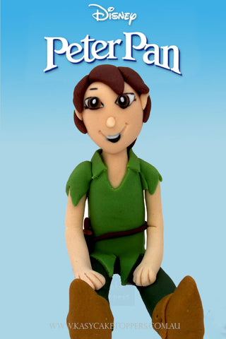 Disney Peter Pan Character Cake Toppers