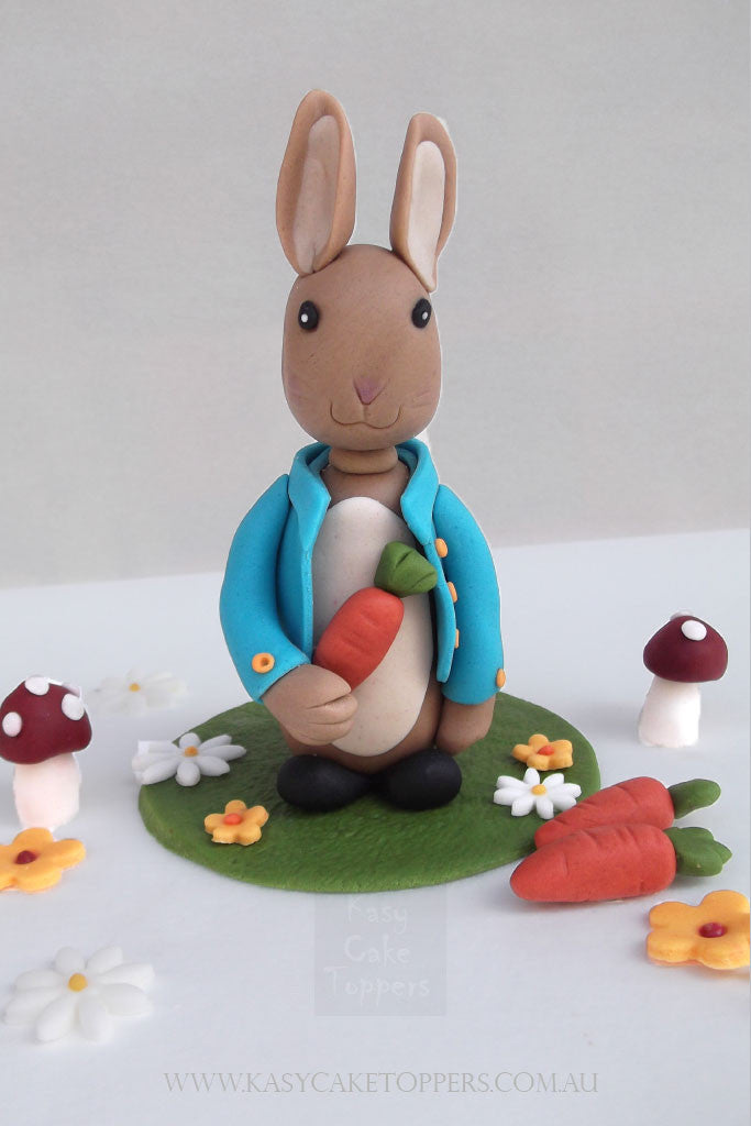 Peter Rabbit Fondant Cake Topper