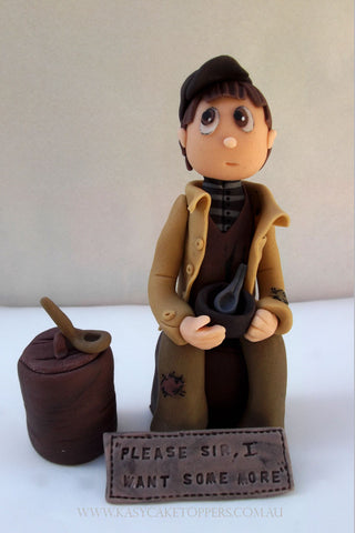 Oliver Twist Edible Cake Topper