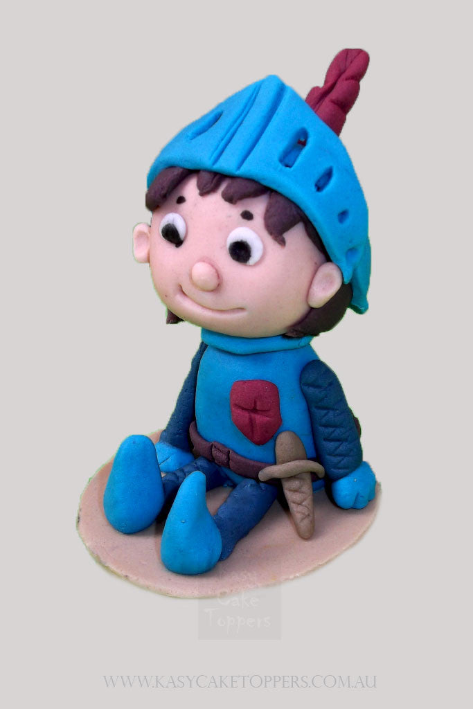 Mike The Knight Edible Fondant Topper Kasy Cake Toppers