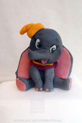 Dumbo The Elephant Cake Topper
