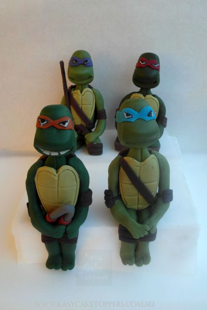 Ninja Turtles Cake Toppers - Kasy Cake Toppers
