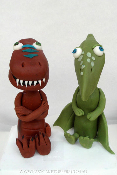 Dinosaur Train Character Edible Cake Toppers