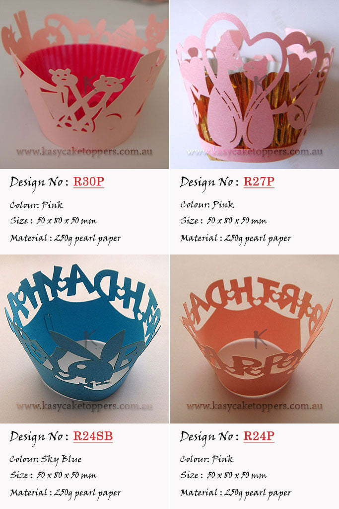 Cupcake Wrappers Mix 120pcs