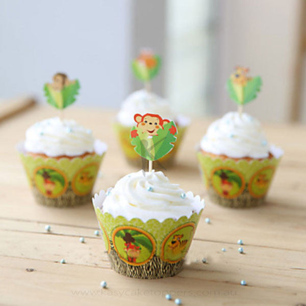 """Family of the Forest"" Cupcake Wrappers"