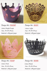 Cupcake Wrappers Mix 300pcs