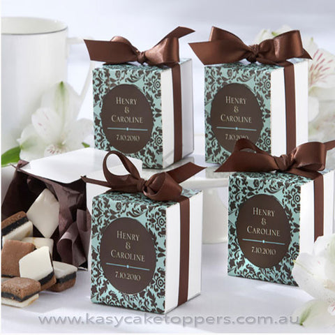 Paper Wedding Fovor Box 100pcs