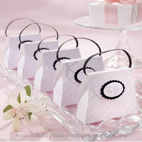 Hand Bag Paper Candy Box 100pcs