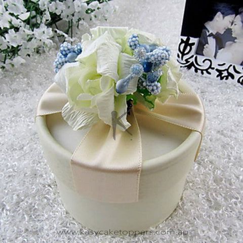 Pound Favor Box with Flowers (Set of 30)