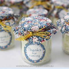 Pastoral Style Glass Candy Jars