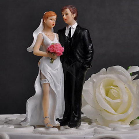 """The Sweet Couple"" Cake Topper"