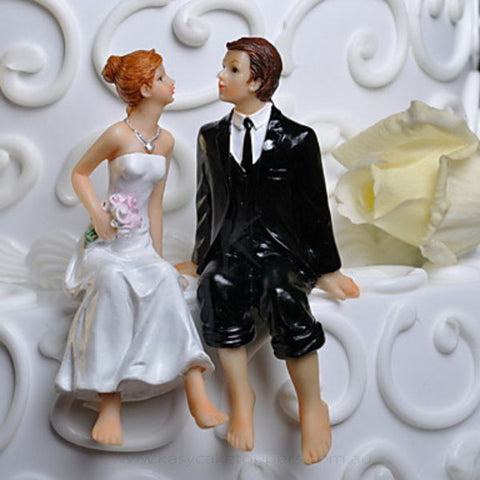 Intimate Lover wedding Cake Topper