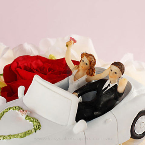 """Honeymoon"" Wedding Cake Topper"
