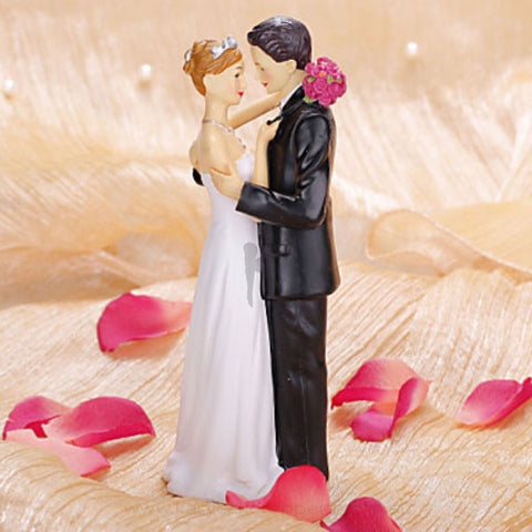 """Precious Moment"" Wedding Cake Figurine"