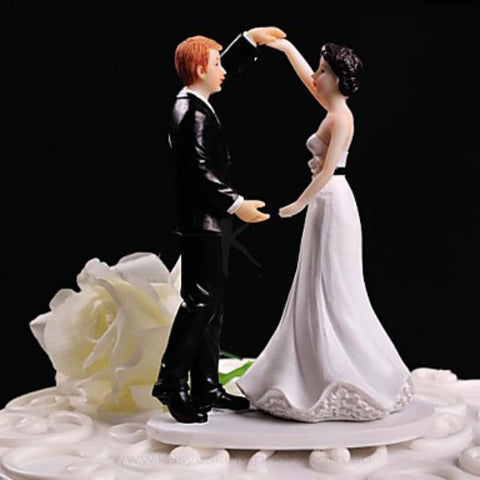Dancing Together Cake Figurine