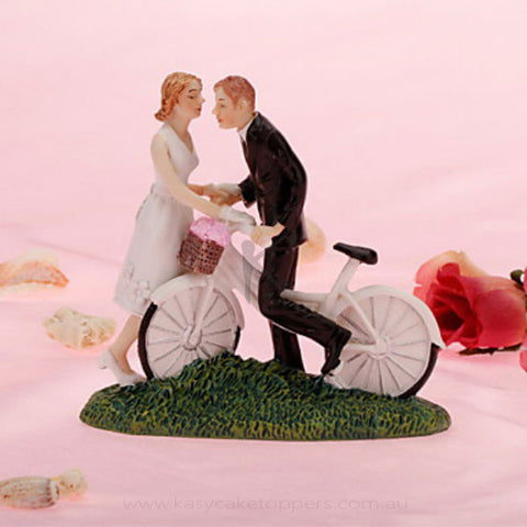 Cycle Get Away Wedding Cake Figurine